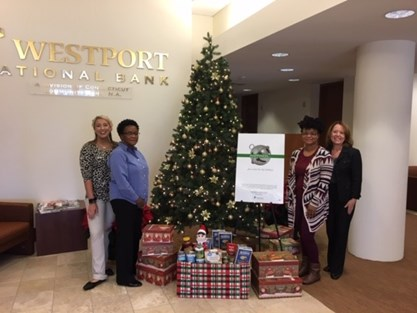 Westport's Spirit of Giving Donation