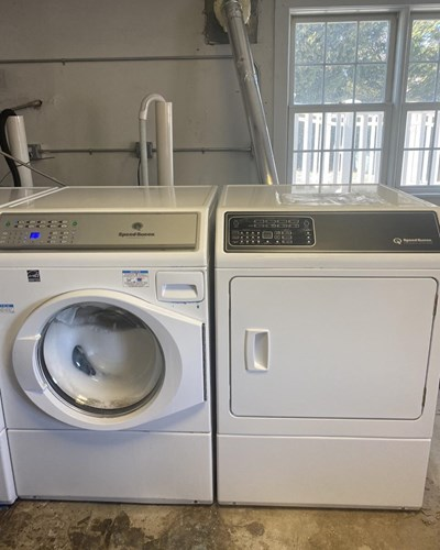 Washer and dryer set for Star, Inc.